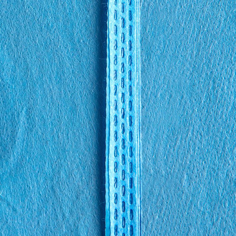NON STERILE ISOLATION GOWN- AAMI LEVEL 3 BLUE (STERILE/NON STERILE) SG1389-B Ultrasonic Stitches